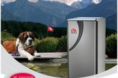 Broszura pomp ciepła szwajcarskiej firmy CTA