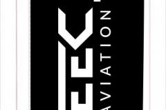 Flaga druk na płótnie logotypu