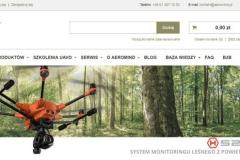Sklep z dronami firmy AeroMind