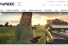 Sklep internetowy z dronami firmy Yuneec